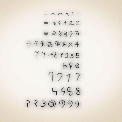 Origen de los números