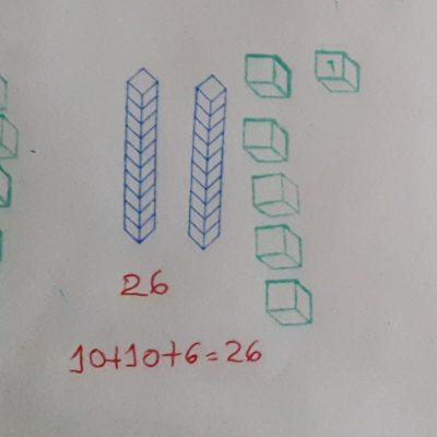 Sellos de descomposición numérica base 10